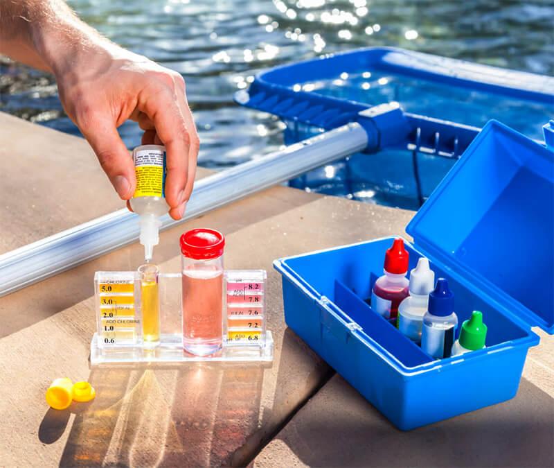 Анализ воды в бассейне